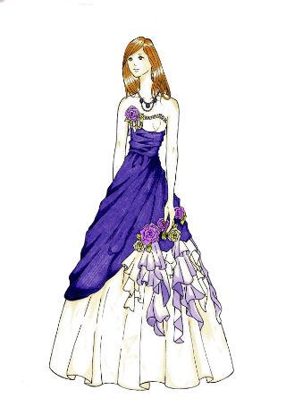 ドレスのフリルを描くのが難しかったです。バラなどの小物を描くのが楽しかったです。ドレスの影や髪のグラデーションはうまくできたので良かったです。