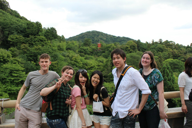 ユタ大学留学生の京都散策 | 新...